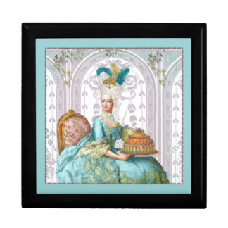 Marie Antoinette Let them eat Cake Jewelry Box