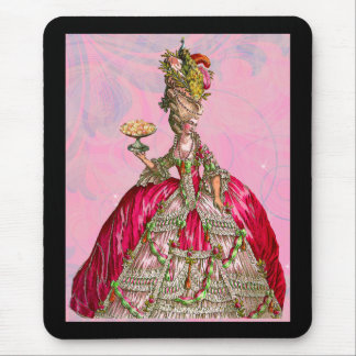 Marie Antoinette Let Them Eat Cake Mouse Pad