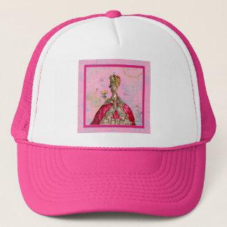 Marie Antoinette Let them eat cake & Peacock Trucker Hat
