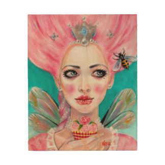 Marie Antoinette Let Them Eat Cupcake Wood Prints