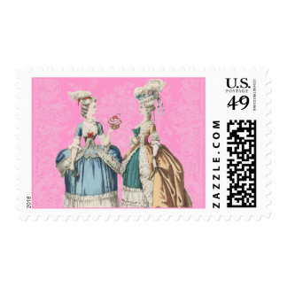 """Marie Antoinette """" Let Them Eat Cupcakes"""" Postage Stamp"""