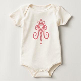 Marie Antoinette Logo ~ Organic Infant Creeper