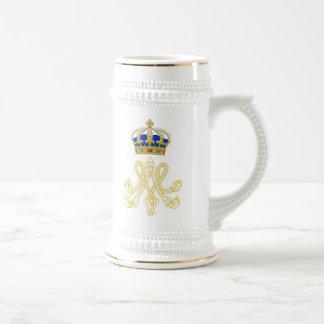 Marie Antoinette Monogram Beer Stein