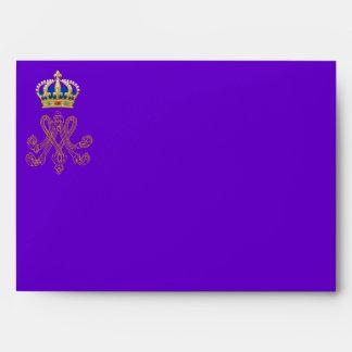 Marie Antoinette Monogram Envelope