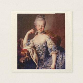 Marie Antoinette Napkins Standard Cocktail Napkin