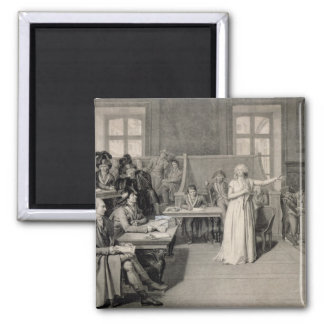 Marie-Antoinette  of Habsbourg-Lorraine 2 2 Inch Square Magnet