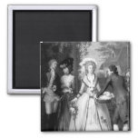 Marie-Antoinette  of Habsbourg-Lorraine 2 Inch Square Magnet