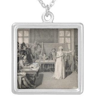 Marie-Antoinette  of Habsbourg-Lorraine 2 Square Pendant Necklace