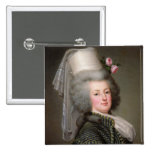 Marie-Antoinette  of Habsbourg-Lorraine 2 Inch Square Button