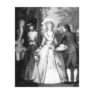 Marie-Antoinette  of Habsbourg-Lorraine Gallery Wrapped Canvas