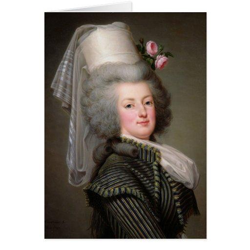Marie-Antoinette  of Habsbourg-Lorraine Greeting Card