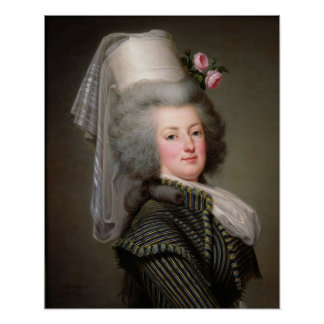 Marie-Antoinette  of Habsbourg-Lorraine Poster