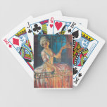 Marie Antoinette on Balcony Bicycle Playing Cards