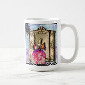 Marie Antoinette On The Wing coffee mug