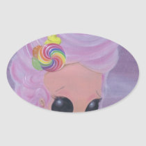 marie, antoinette, sugar, fueled, sugarfueled, michael, banks, coallus, rainbow, candy, girl, Sticker with custom graphic design