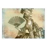 Marie Antoinette Parchment Business Cards