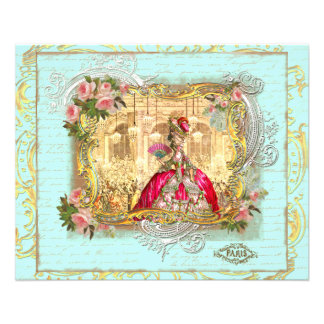 Marie Antoinette Party at Versailles Flyer