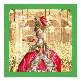 Marie Antoinette Party Invitation