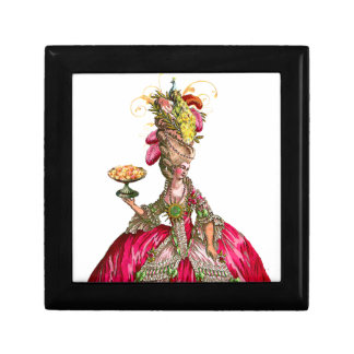 Marie Antoinette Peacock Cake Jewelry Box