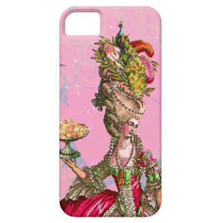 Marie Antoinette & Peacock iPhone 5 Case