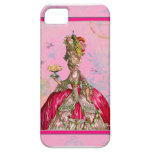 Marie Antoinette & Peacock iPhone 5 Cover