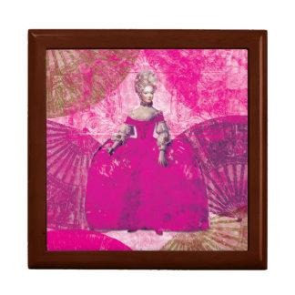 Marie Antoinette Pink Dress Jewelry Box
