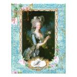 Marie Antoinette Pink Roses n Lace Invitations