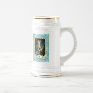 Marie Antoinette Pink Roses n Lace Coffee Mugs