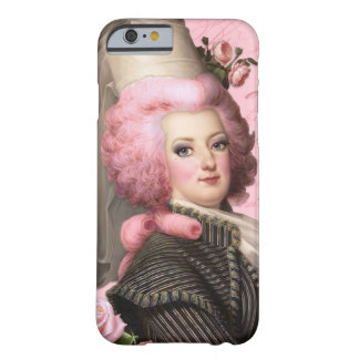 Marie Antoinette Pink Wig Hat Roses Barely There iPhone 6 Case