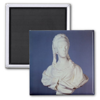 Marie-Antoinette , portrait bust 2 Inch Square Magnet