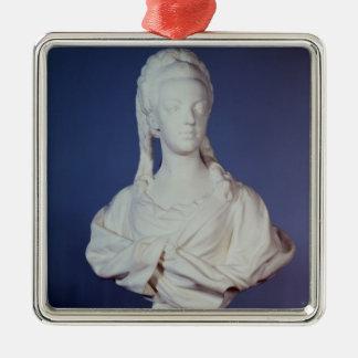 Marie-Antoinette , portrait bust Metal Ornament