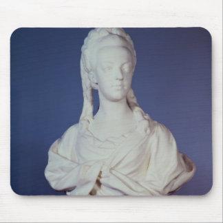 Marie-Antoinette , portrait bust Mouse Pad