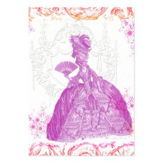 Marie Antoinette Potpourri Custom Business Card