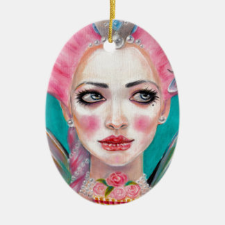 Marie Antoinette Queen Bee Christmas Ornaments