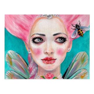 Marie Antoinette Queen Bee Postcard