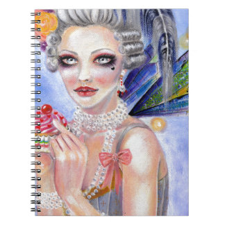 Marie Antoinette - Queen of Cupcakes Note Books