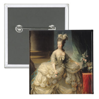 Marie Antoinette  Queen of France, 1779 2 Inch Square Button