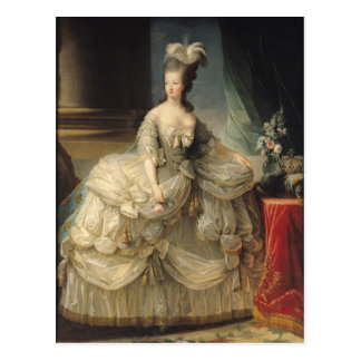 Marie Antoinette  Queen of France, 1779 Postcard