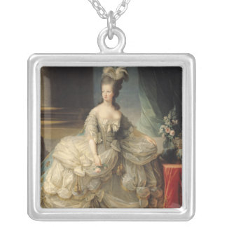 Marie Antoinette  Queen of France, 1779 Silver Plated Necklace