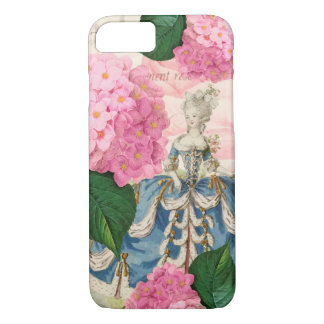 Marie Antoinette Redoute Flowers iPhone 7 Case