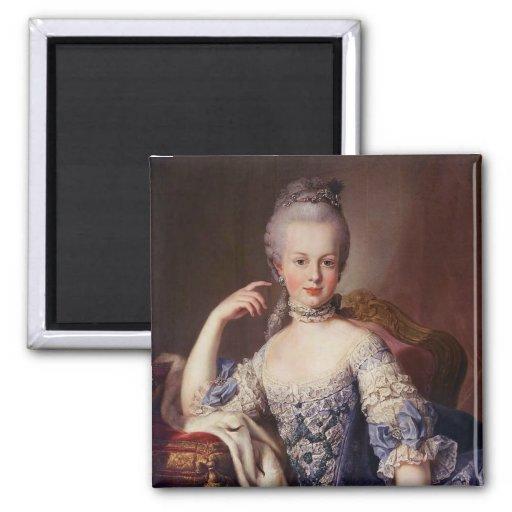Marie Antoinette Refrigerator Magnets