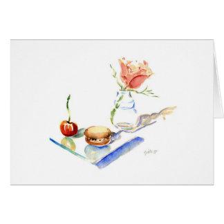 Marie- Antoinette Rose Card