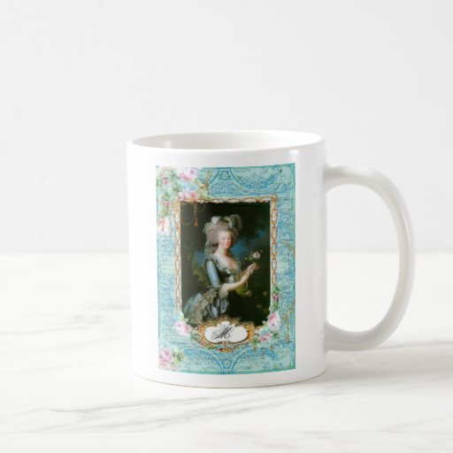 Marie Antoinette Roses and Lace Coffee Mug