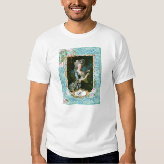 Marie Antoinette Roses and Lace T Shirts