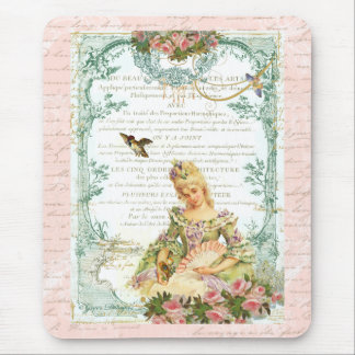 Marie Antoinette & Sparrow Mouse Pads