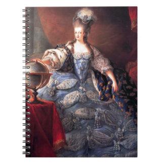 Marie Antoinette Spiral Note Books