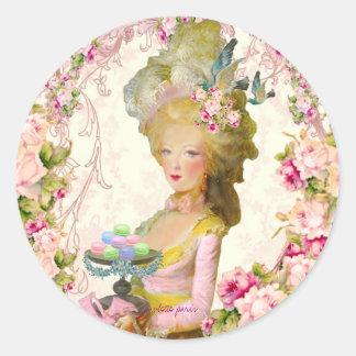 Marie Antoinette Springtime Pastille Macaron Seals
