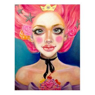 Marie Antoinette Sweetie Postcard