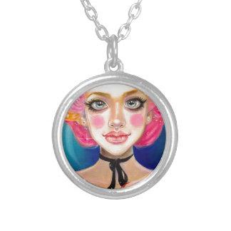 Marie Antoinette Sweetie Round Pendant Necklace