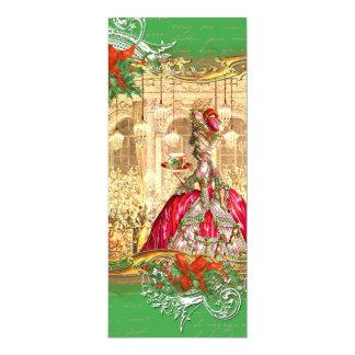 Marie Antoinette Tea Party Invitation Christmas